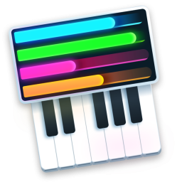 Loop Piano Icon